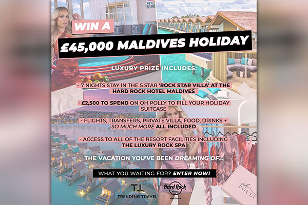 Trending Travel launches 'UK's biggest ever Instagram holiday giveaway'
