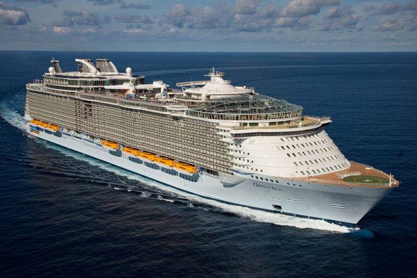 Passenger dies 'jumping from cruise ship'