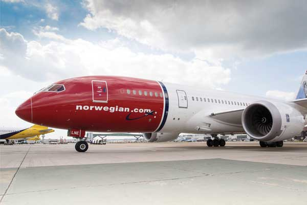Norwegian reports load factor improvement in July