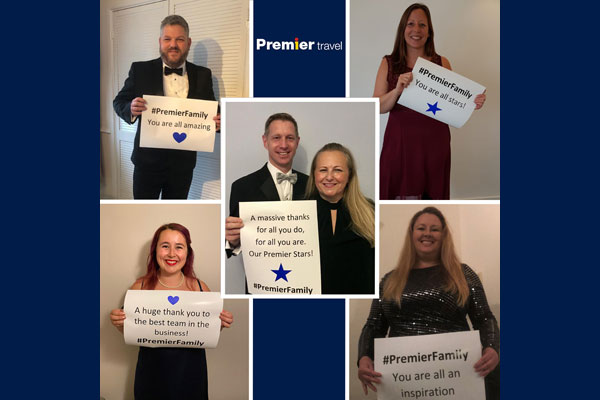 Premier Travel branches dress up for local hospice