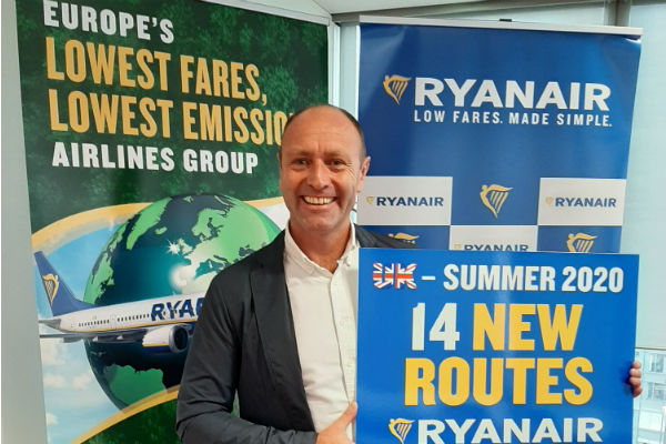 Ryanair marketing boss Kenny Jacobs to stand down