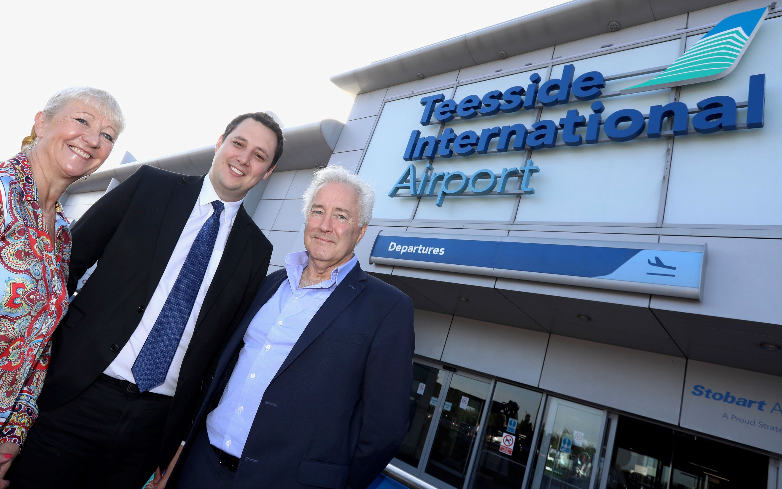 Teesside International airport name revived