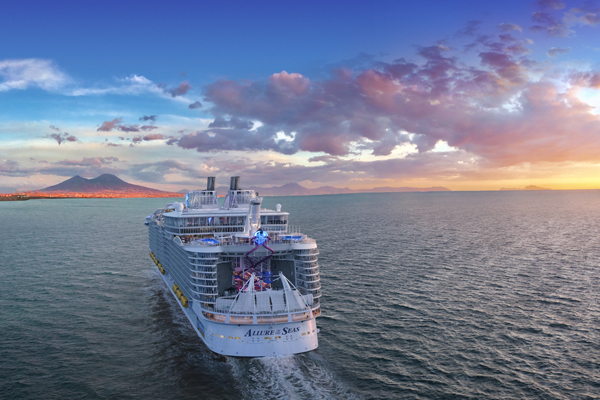 Win one of 110 places on Royal Caribbean's Allure of the Seas®