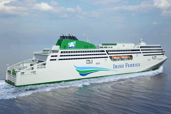 Irish Ferries owner issues Brexit warning