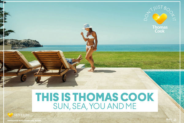 Thomas Cook unveils multi-million pound summer ad campaign