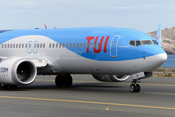 Tui vows to maintain flying programme as UK grounds 737 Max