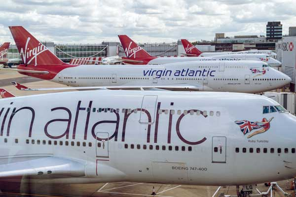 Quarantine will delay Virgin Atlantic's return