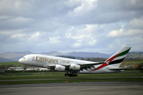 Emirates returns to Glasgow