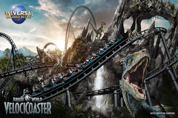 Jurassic World roller coaster to open at Universal Orlando