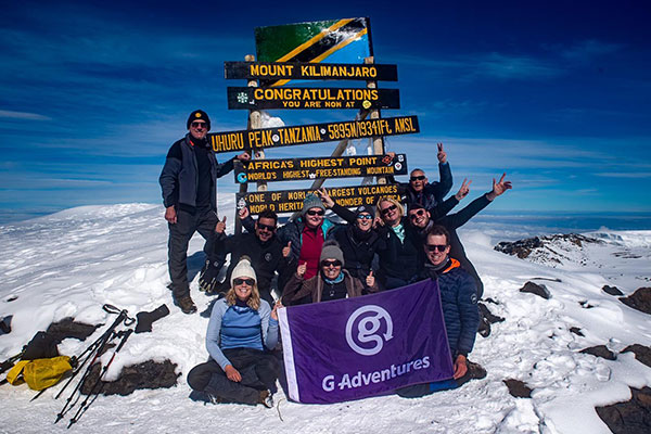 Spotlight: Travel industry team overcomes rain and pain during Mount Kilimanjaro climb