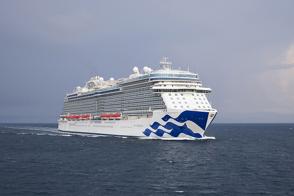 Princess Cruises takes delivery of Sky Princess