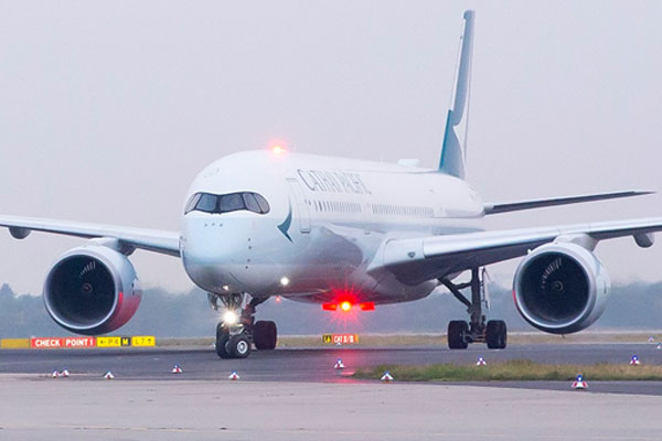 Cathay Pacific suffers 35% inbound travel slump amid Hong Kong protests