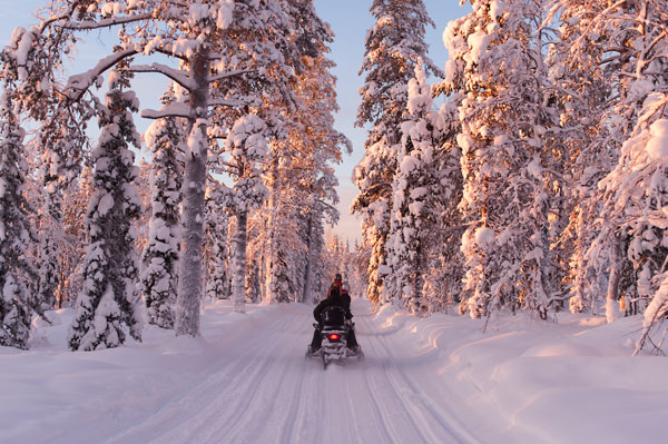 Win a Lapland Winter Wonderland experience for two