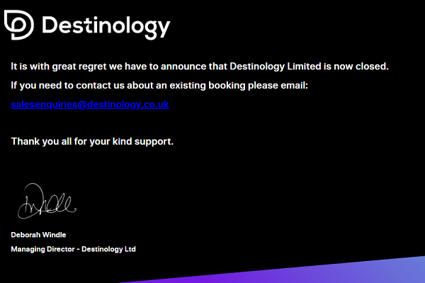 Saga shuts Destinology after sale falls through