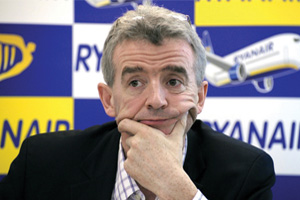 Ryanair chief accuses government of 'panic' over Spain