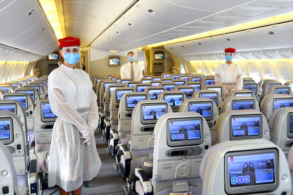 Emirates tightens Covid-19 precautions