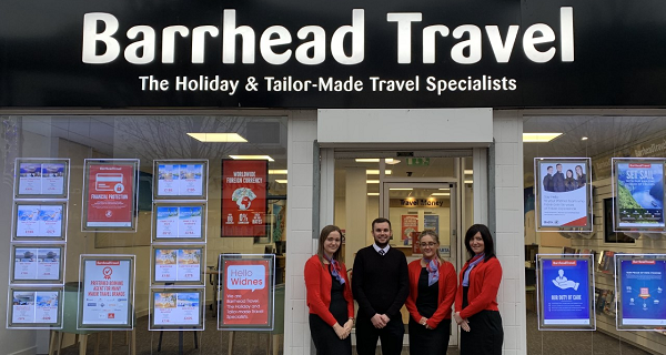 First Barrhead Travel stores to reopen after pandemic