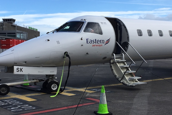 Eastern Airways restores former Flybe Southampton-Dublin route
