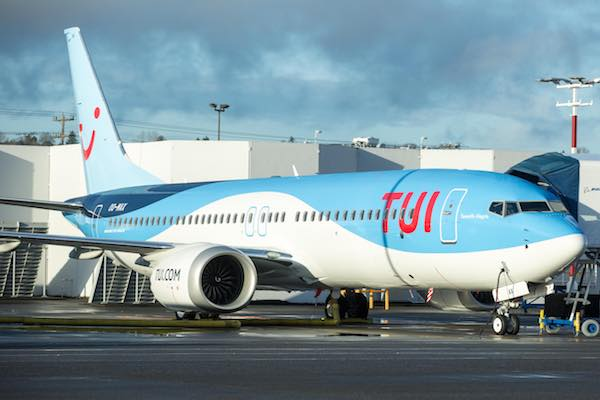 Tui agrees new $90m Boeing 737 Max sale and leaseback