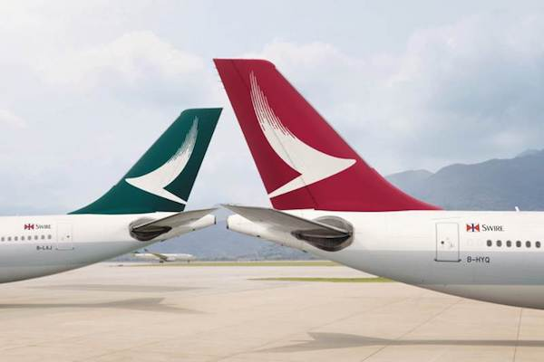 Cathay Pacific to run under half capacity in 2021