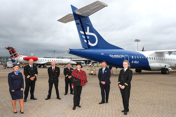 APD savings pledge via Loganair-Blue Islands collaboration