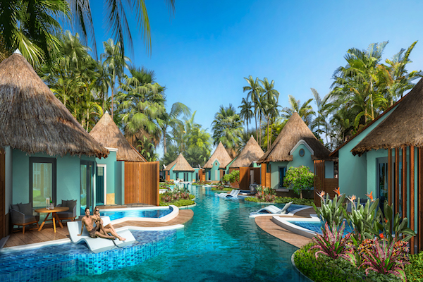 First swim-up Rondoval suites added at Sandals South Coast Jamaica resort
