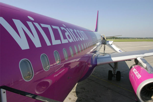 Wizz Air UK-Romania flights suspended
