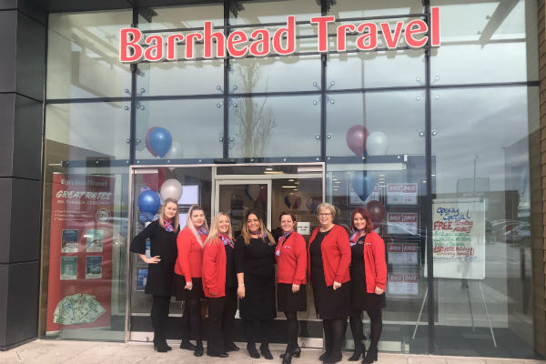 Barrhead Travel reaffirms plans to expand retail network by 'up to 100 shops'