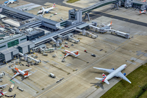 Gatwick expects passenger numbers to return in '36 to 48 months'