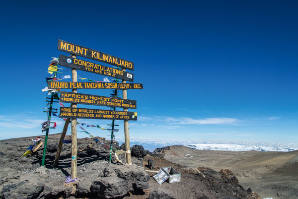 Spotlight: Travel industry leaders to climb Mount Kilimanjaro