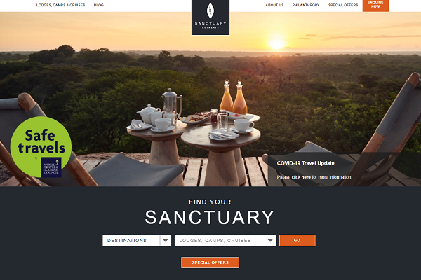 Sanctuary Retreats poised to expand into South America