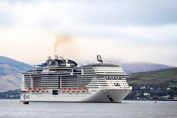 Coronavirus: MSC Meravgilia turned away from Caribbean ports