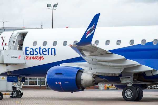 Eastern Airways makes Heathrow debut with Teesside service