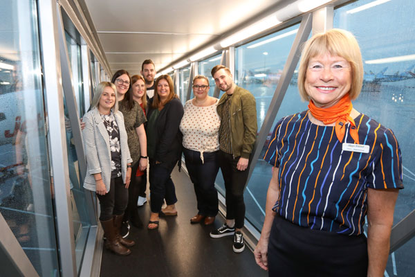 Hays Travel staff take to the skies for company's 30th conference