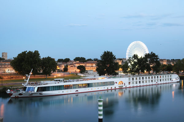 Exploring the Rhone on a river cruise on board A-Rosa Stella