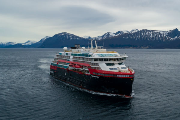 Thirty-six Hurtigruten crew members test positive for Covid-19