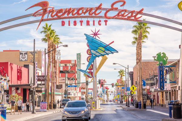 See a different side of Las Vegas on Fremont Street