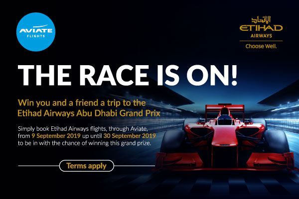 Win your place at the Etihad Airways Abu Dhabi Grand Prix