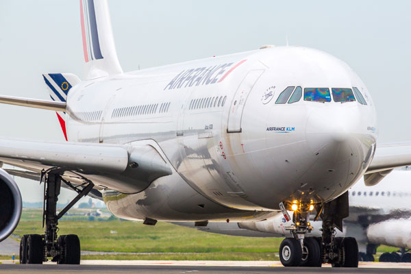 Air France rated top in Europe for Covid health and safety