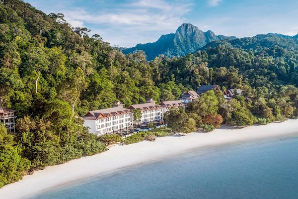 Malaysia's Andaman resort hotel destroyed by fire