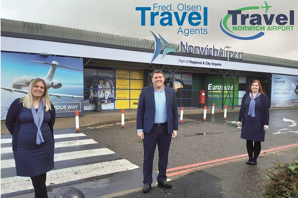 Fred Olsen Travel acquires Travel Norwich Airport brand