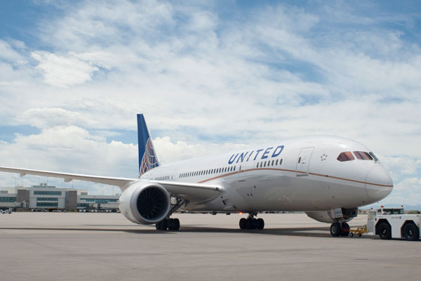 United set for first Covid-free transatlantic flight trial