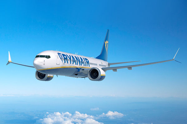 Ryanair expands from Bournemouth for winter