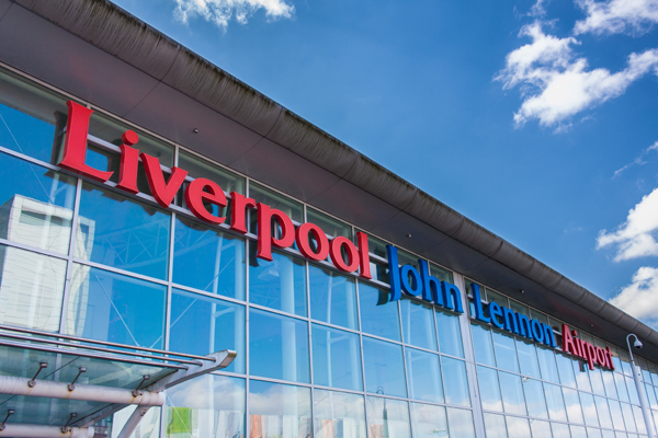 Liverpool airport records 5% passenger surge