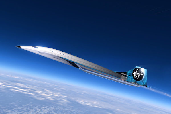 Virgin Galactic plans new generation supersonic aircraft