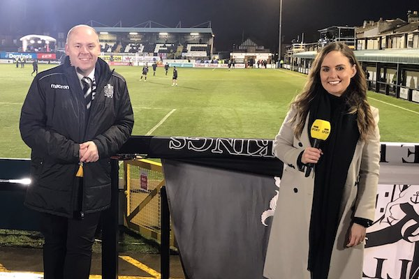 TV fame for Travel Village's Richard Cross as Marine FC host Spurs