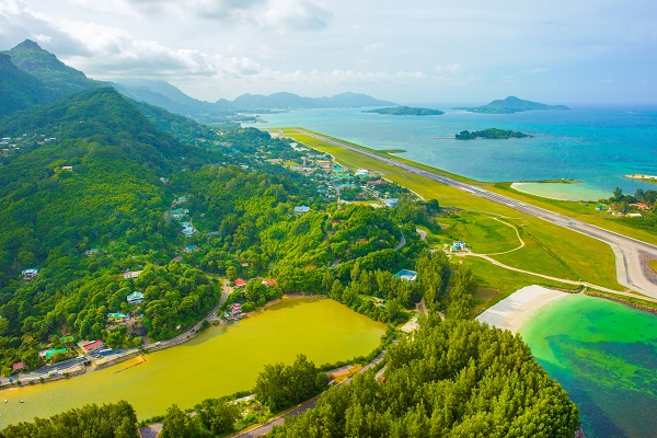 The Seychelles reopens international airport