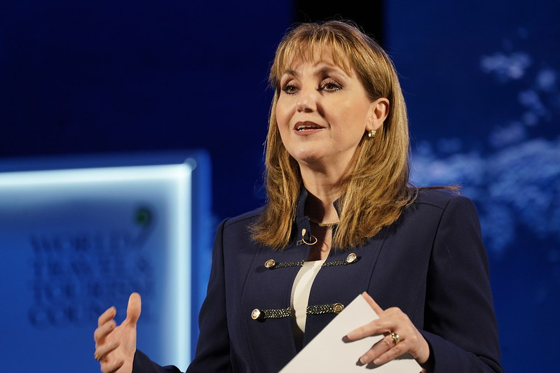 WTTC president Gloria Guevara to step down after four years
