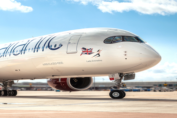 Iconic women recognised by Virgin Atlantic