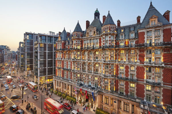Fire-hit Mandarin Oriental Hyde Park re-opens